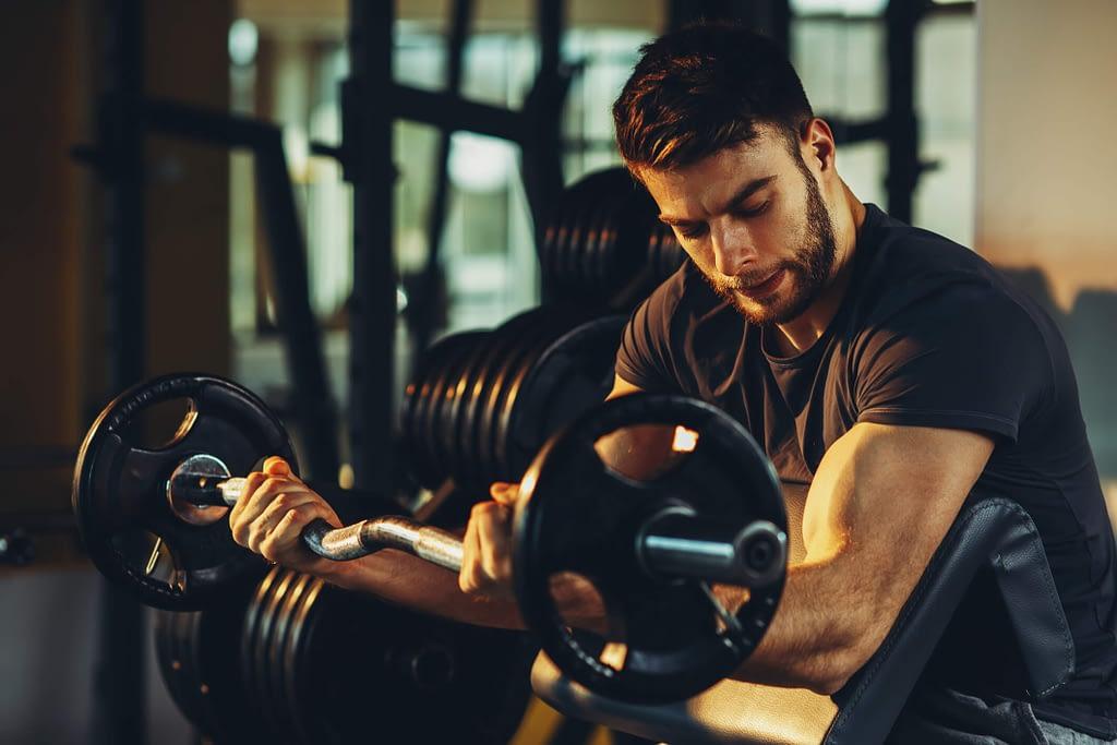 Musculação: Atividades físicas garantem saúde e qualidade de vida.