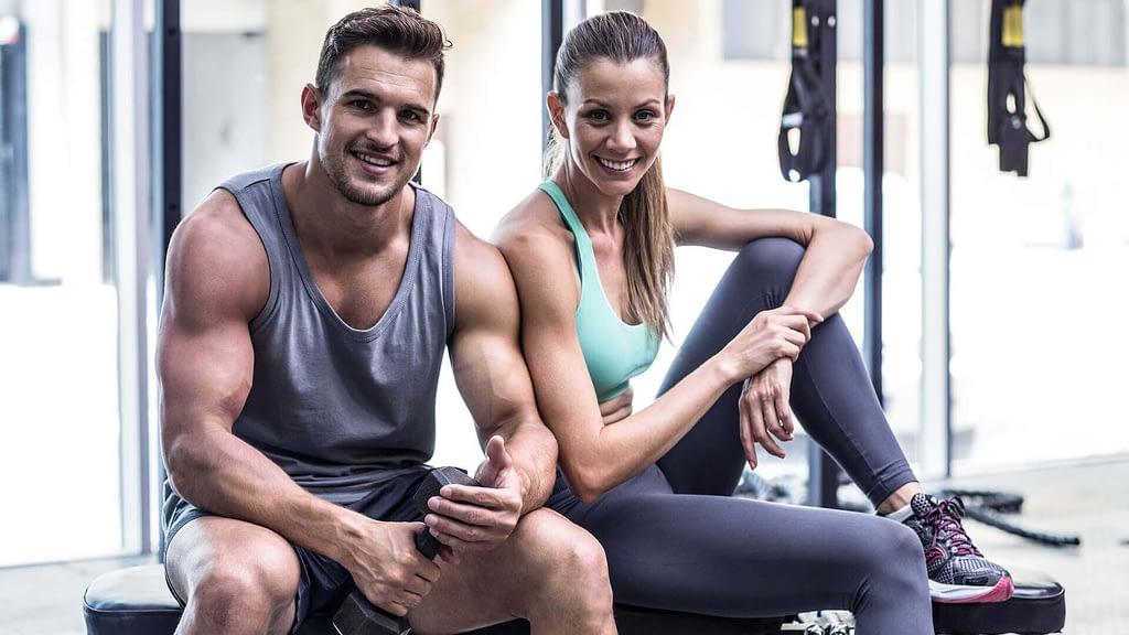 pessoas fitness