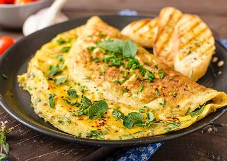 Receitas proteicas com ovo para ganhar massa muscular- Ovo suflê