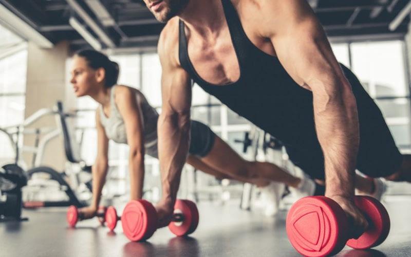 É preciso esforço para ter um corpo musculoso