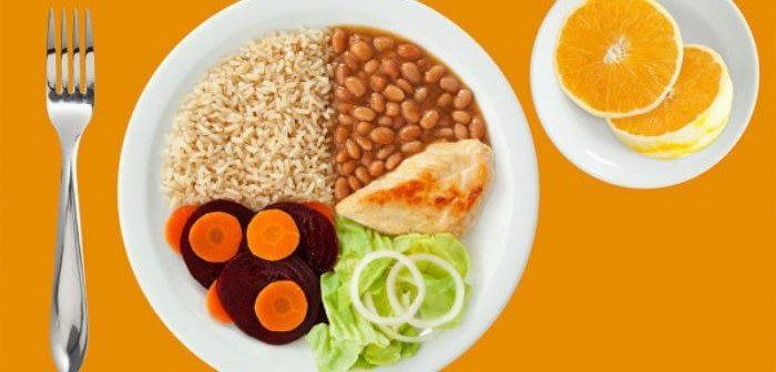 porção ideal de alimento