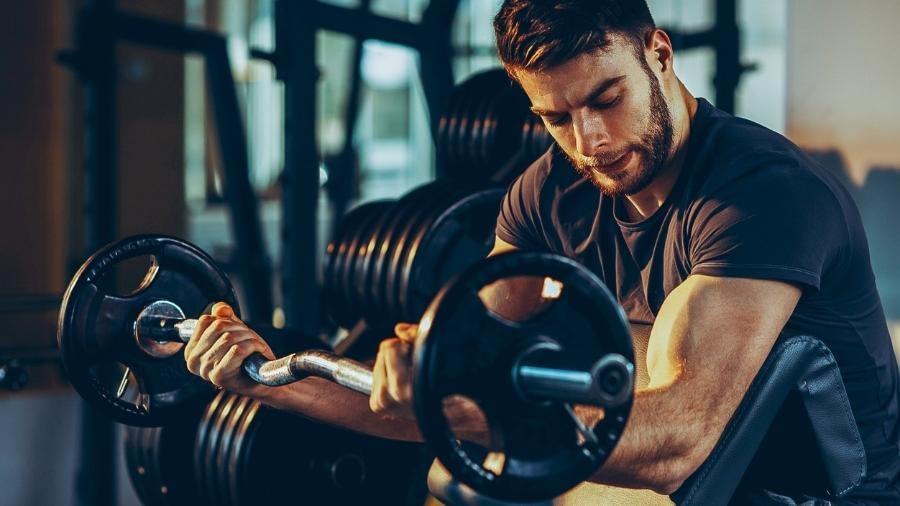 carga na musculação